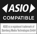 与ASIO兼容– ASIO是Steinberg Media Technologies GmbH的注册商标。